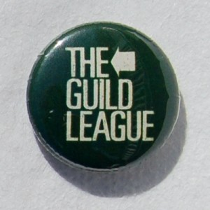 green logo badge