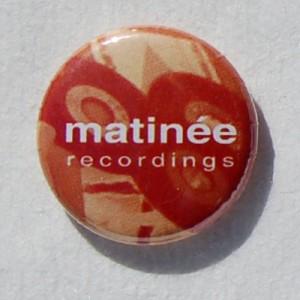 Matinée 45 rpm badge